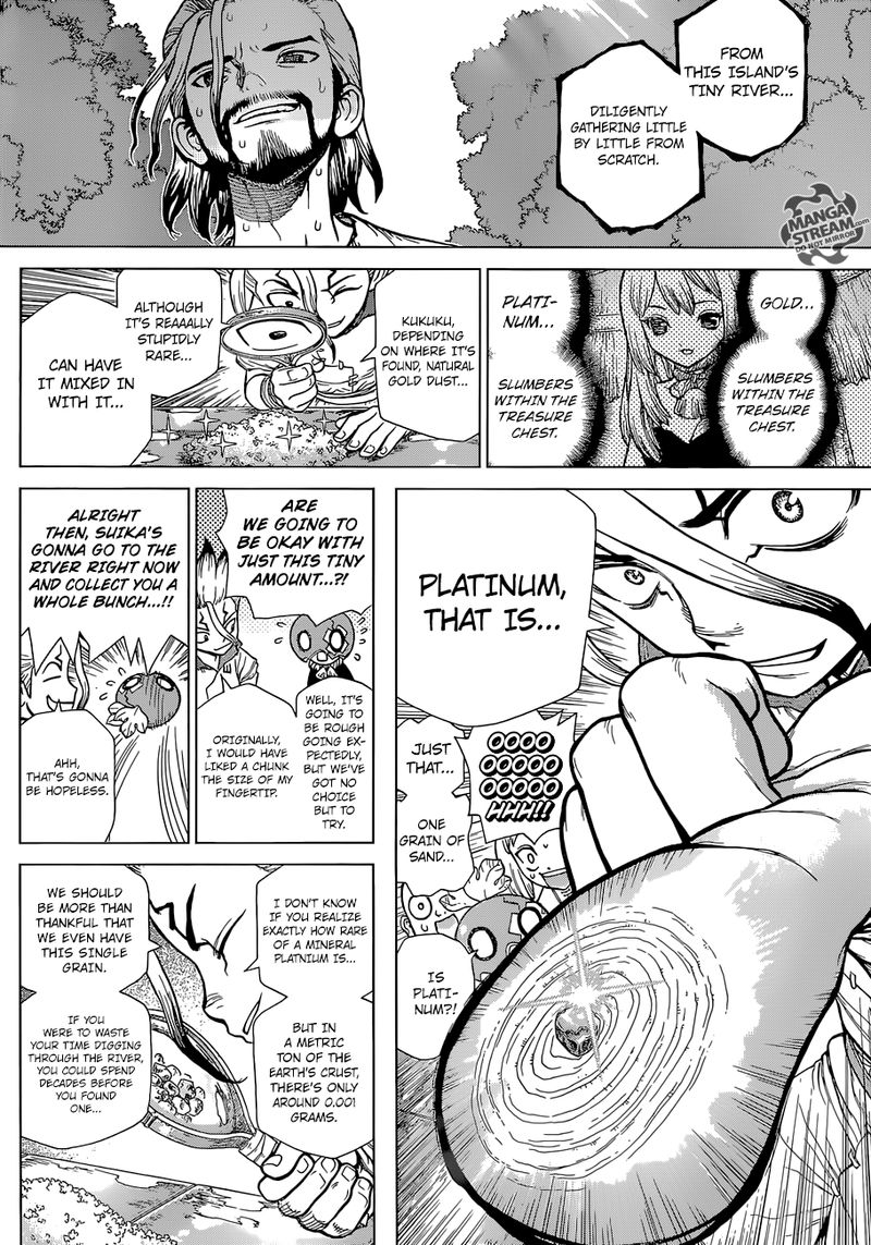 Dr. Stone : Chapter 115 - One second and one grain image 008