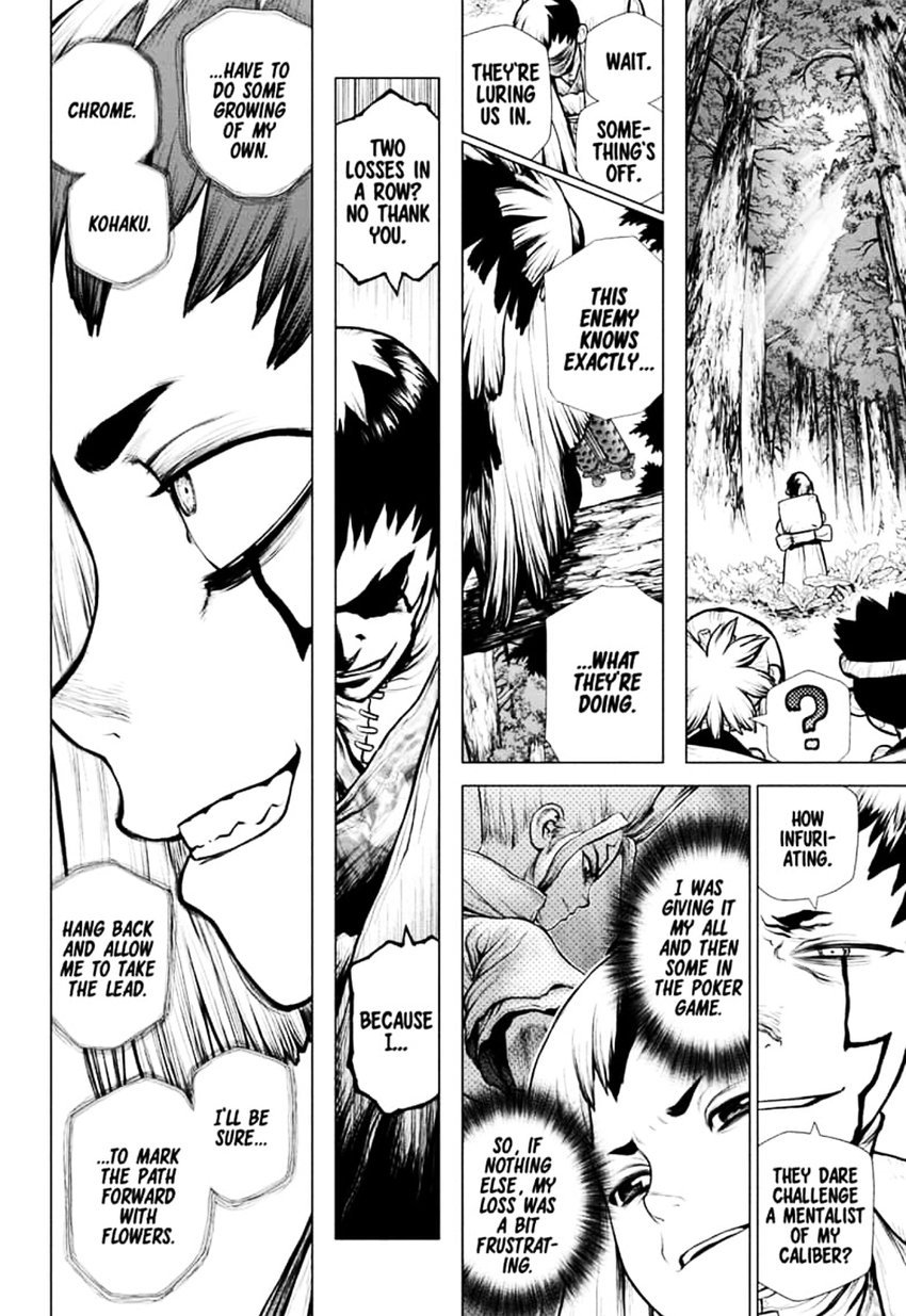 Dr. Stone : Chapter 151 - Dr. X image 004