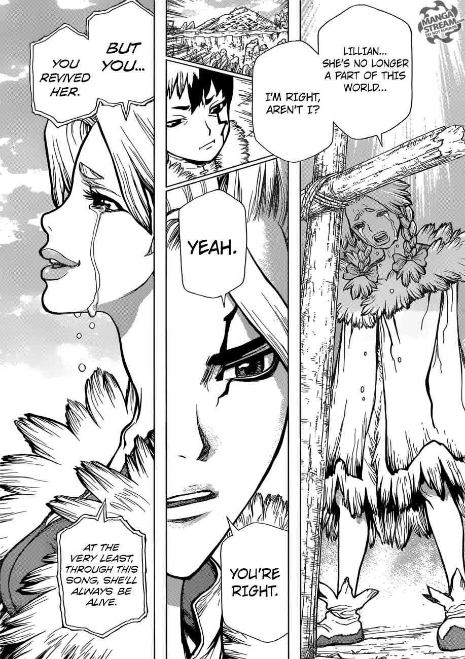 Dr. Stone : Chapter 66 - A liar and a honest person image 017