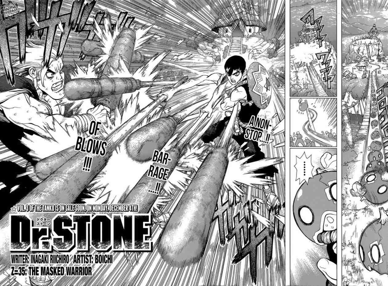 Dr. Stone : Chapter 35 - The Masked Warrior image 002