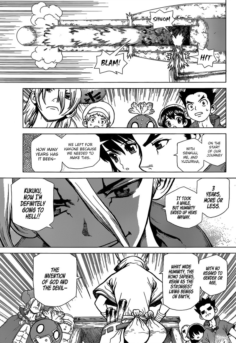 Dr. Stone : Chapter 124 - The invention of God and the Devil image 009