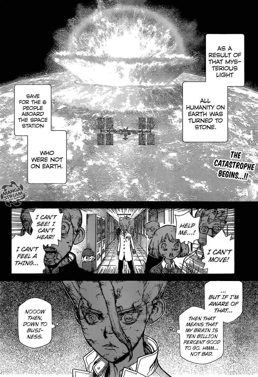 Dr. Stone : Chapter 44 - 100 Nights and 1,000 Skies image 002