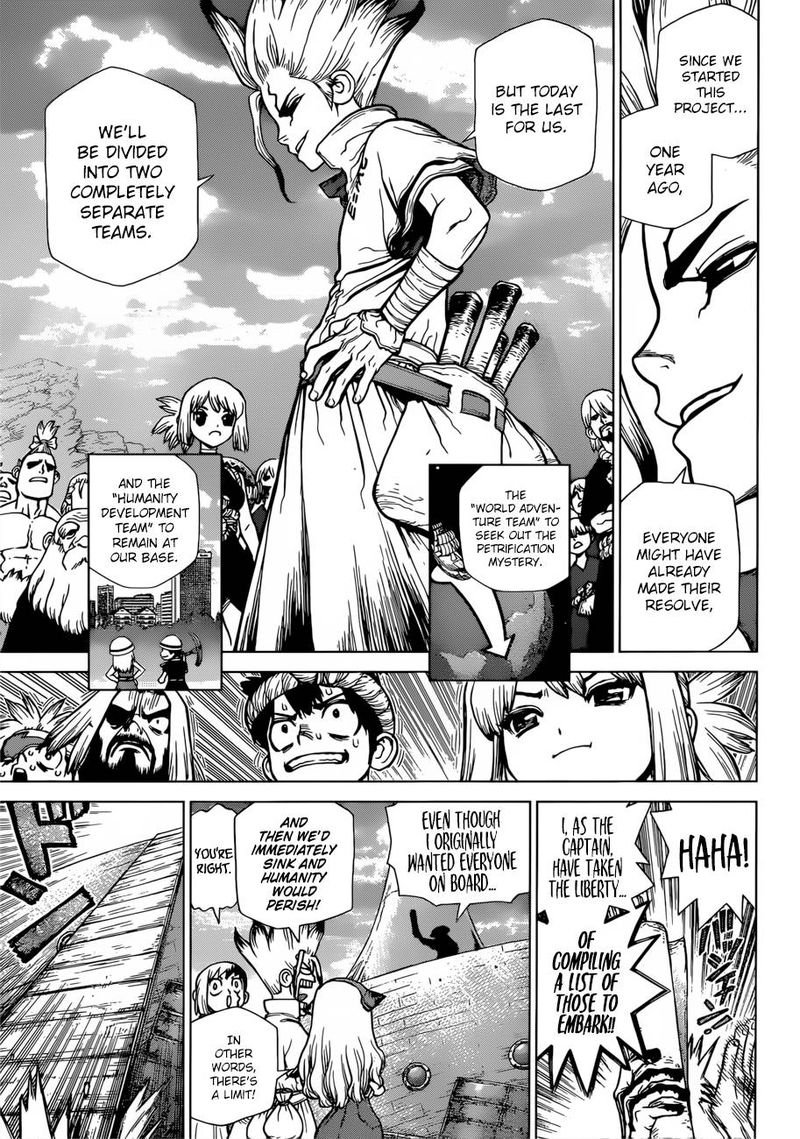 Dr. Stone : Chapter 100 - The Hundred Stories Beginning image 003
