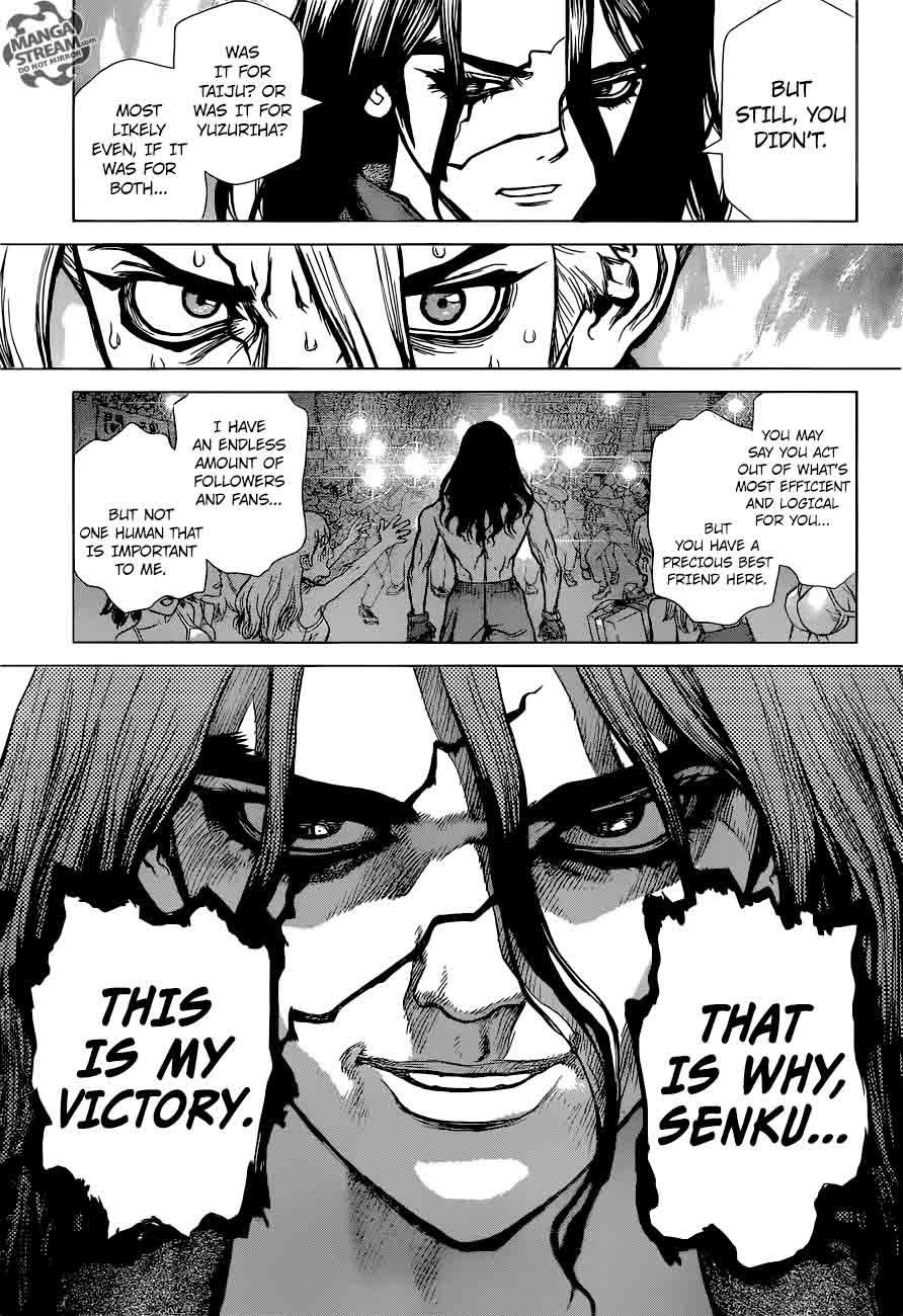Dr. Stone : Chapter 9 - Senku vs Tsukasa image 010