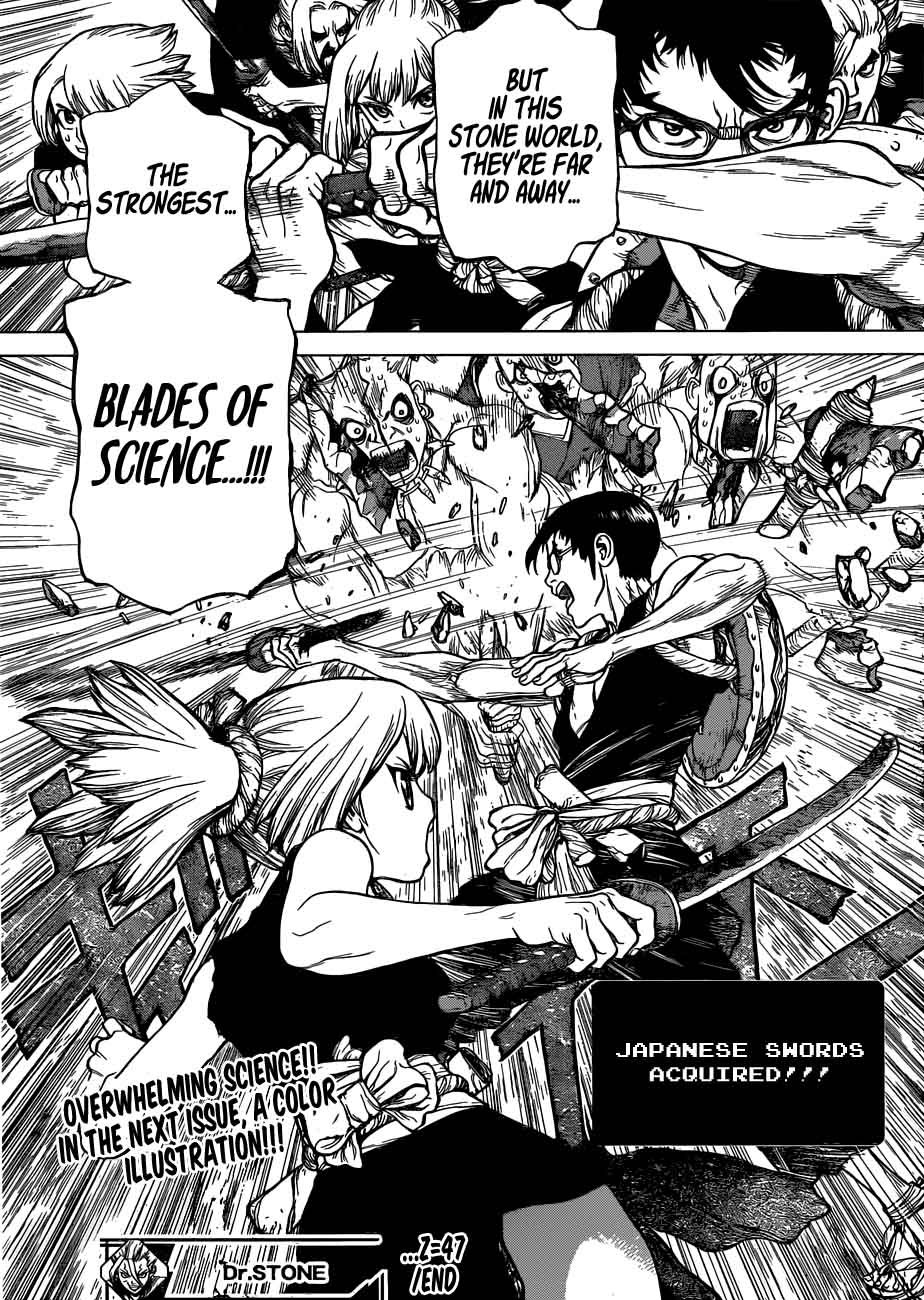 Dr. Stone : Chapter 47 - Science vs Power image 017