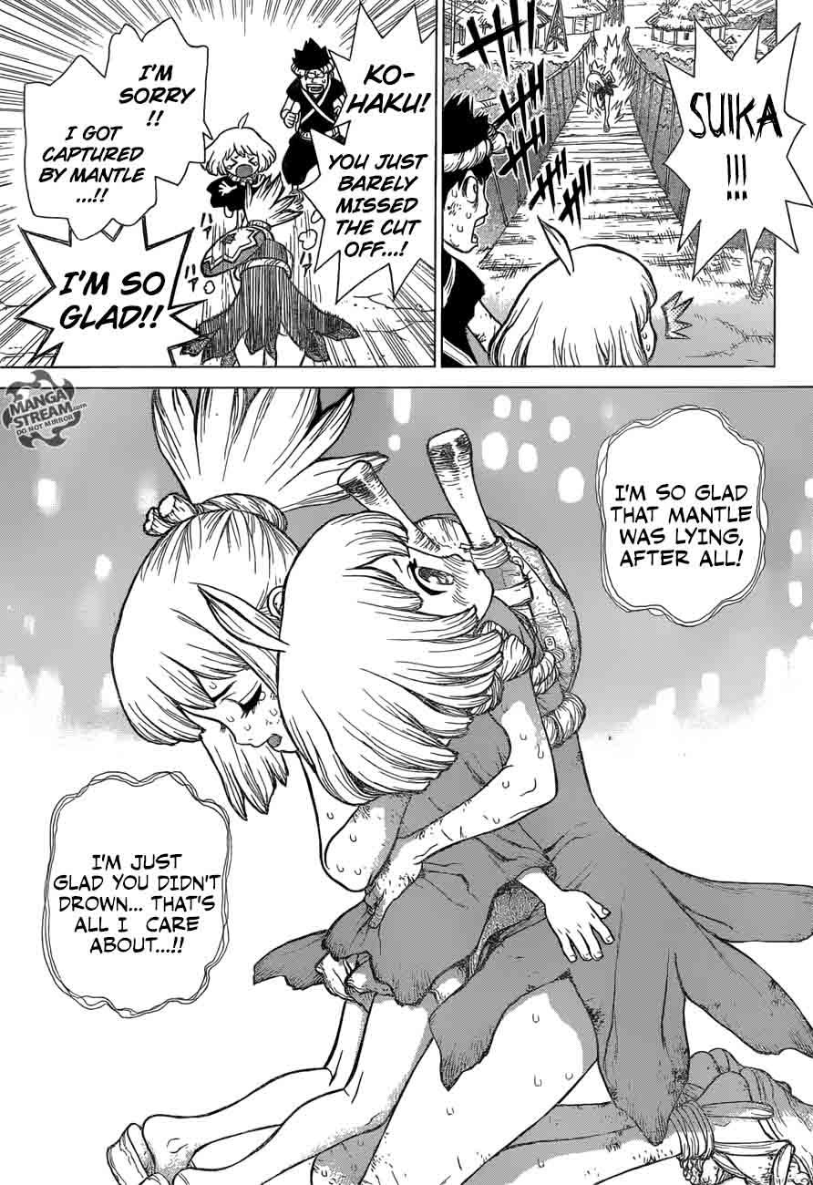 Dr. Stone : Chapter 36 - Kinrou and Ginrou image 013