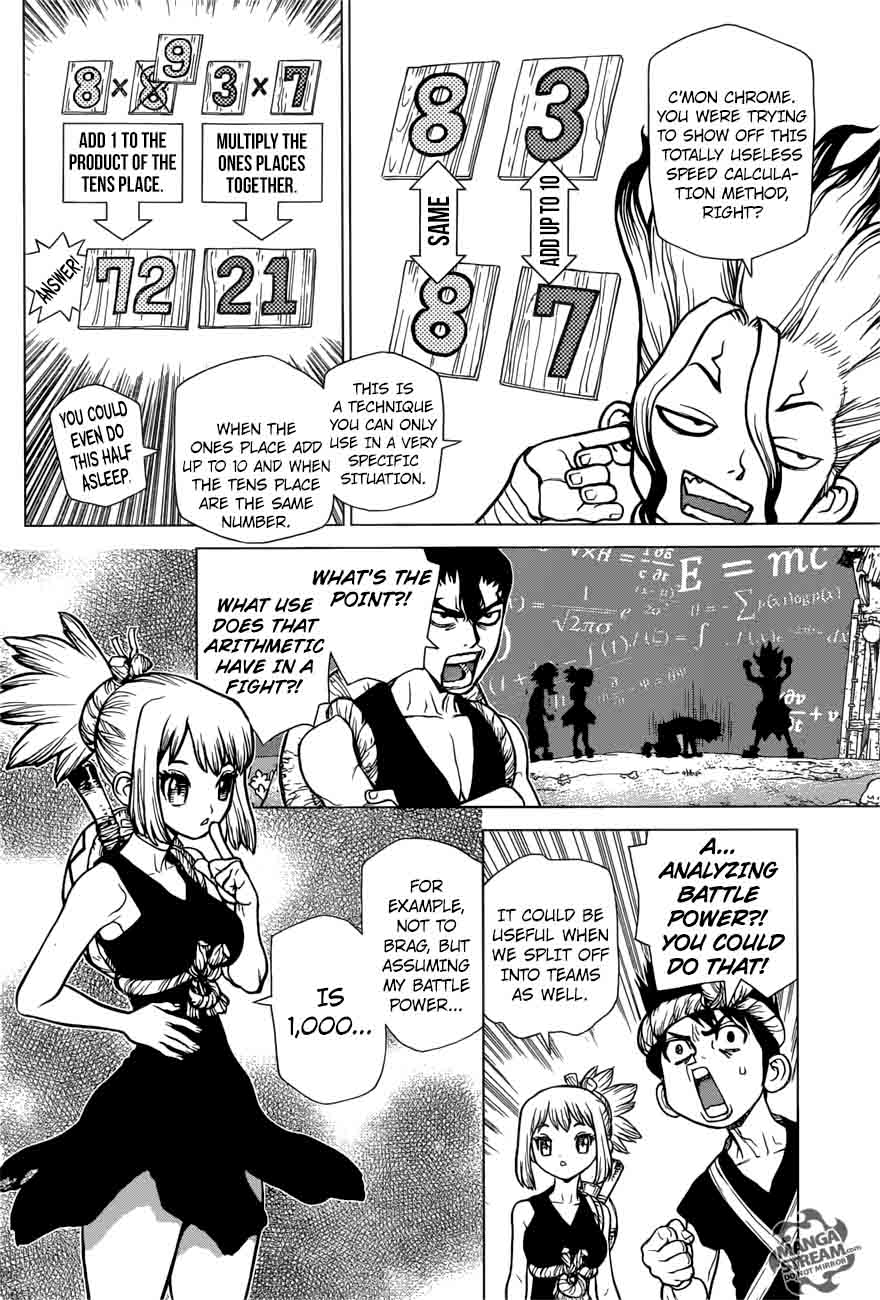 Dr. Stone : Chapter 22 - Survival Gourmet image 023