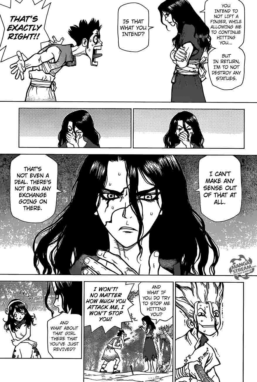 Dr. Stone : Chapter 6 - Taiju vs Tsukasa image 011