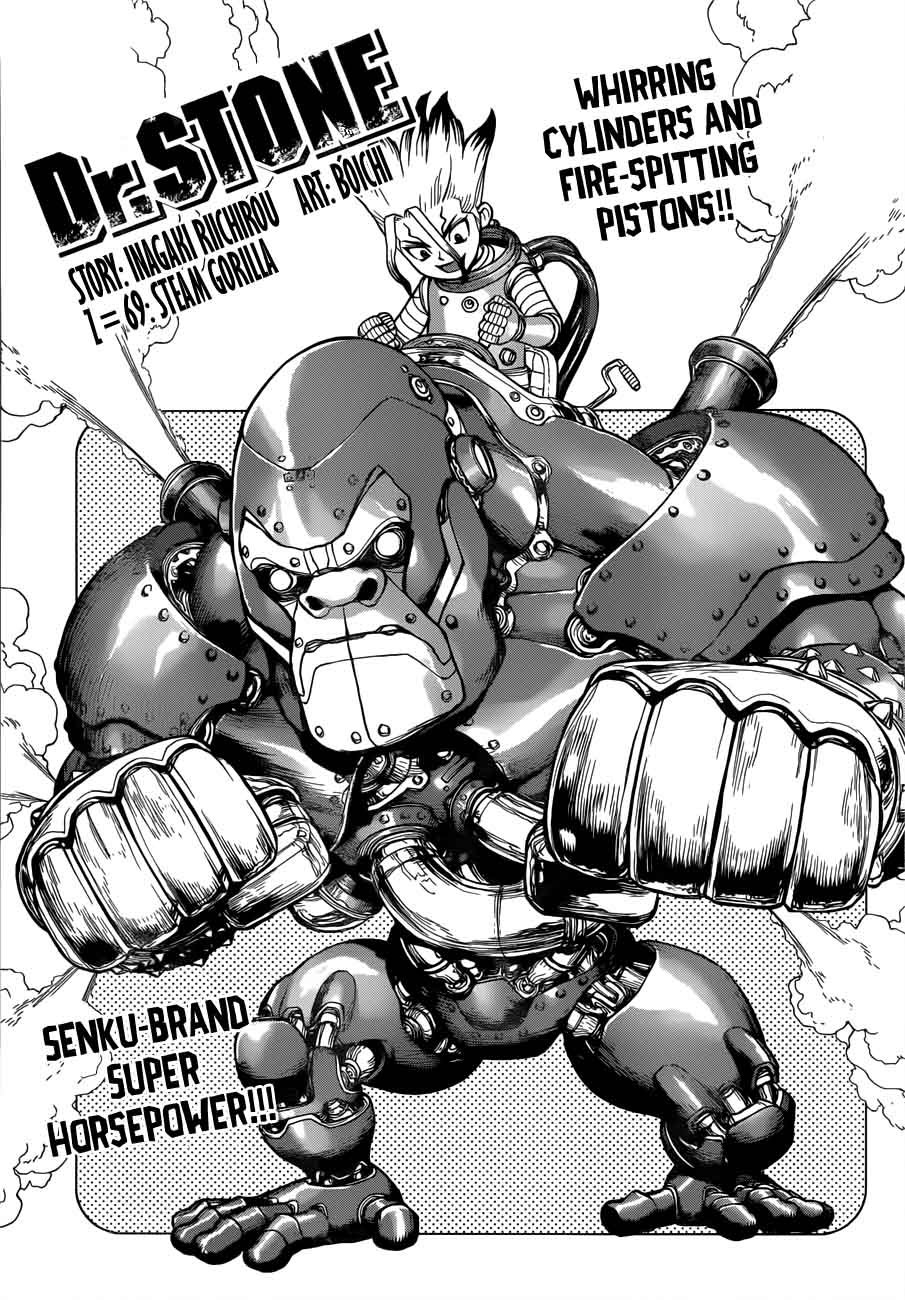 Dr. Stone : Chapter 69 - Steam Gorilla image 003