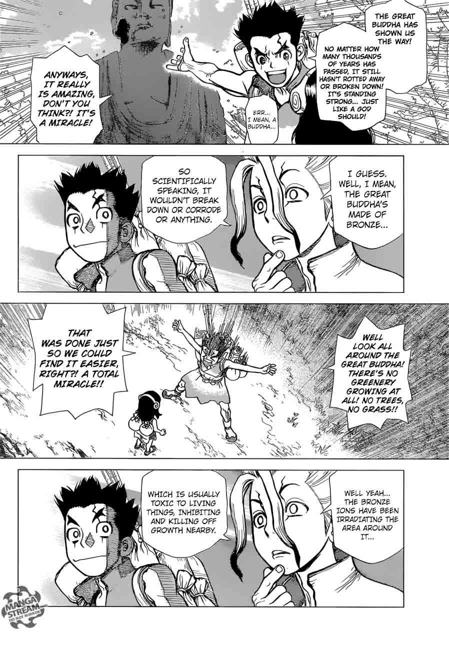 Dr. Stone : Chapter 7 - The gunpowder adventure image 008