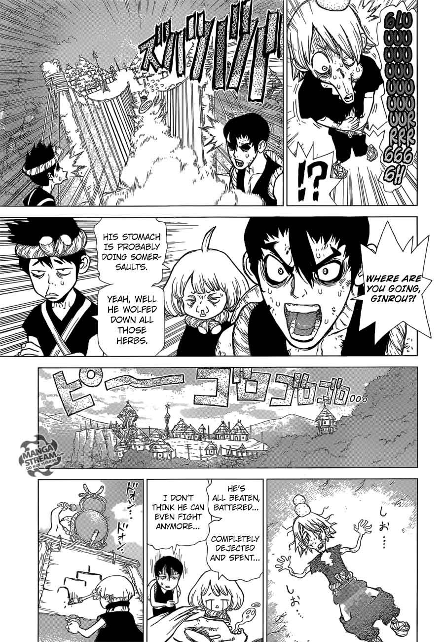 Dr. Stone : Chapter 37 - Chome the Sciencer image 005