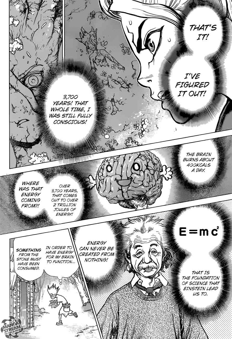 Dr. Stone : Chapter 14 - What you believe in image 013