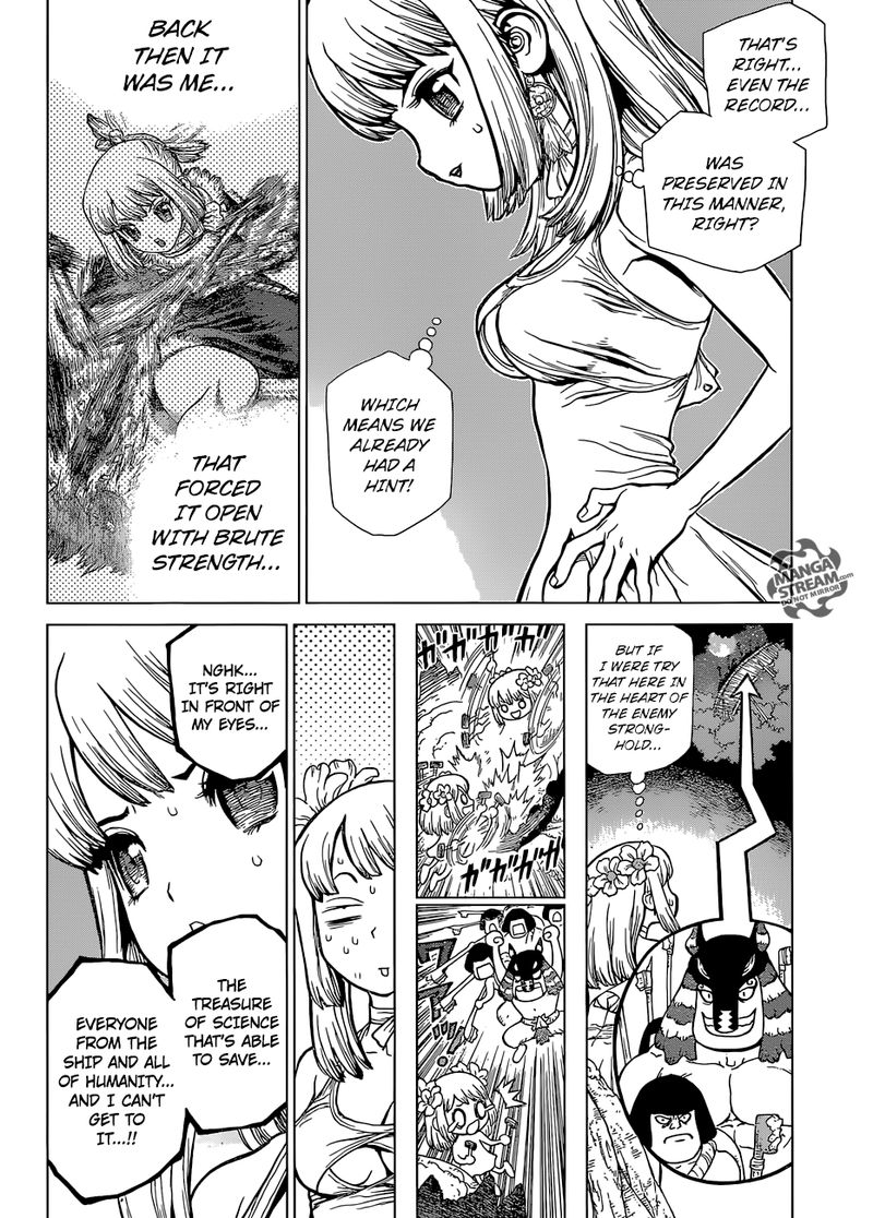 Dr. Stone : Chapter 114 - As Science Silently Bores through Stone image 005