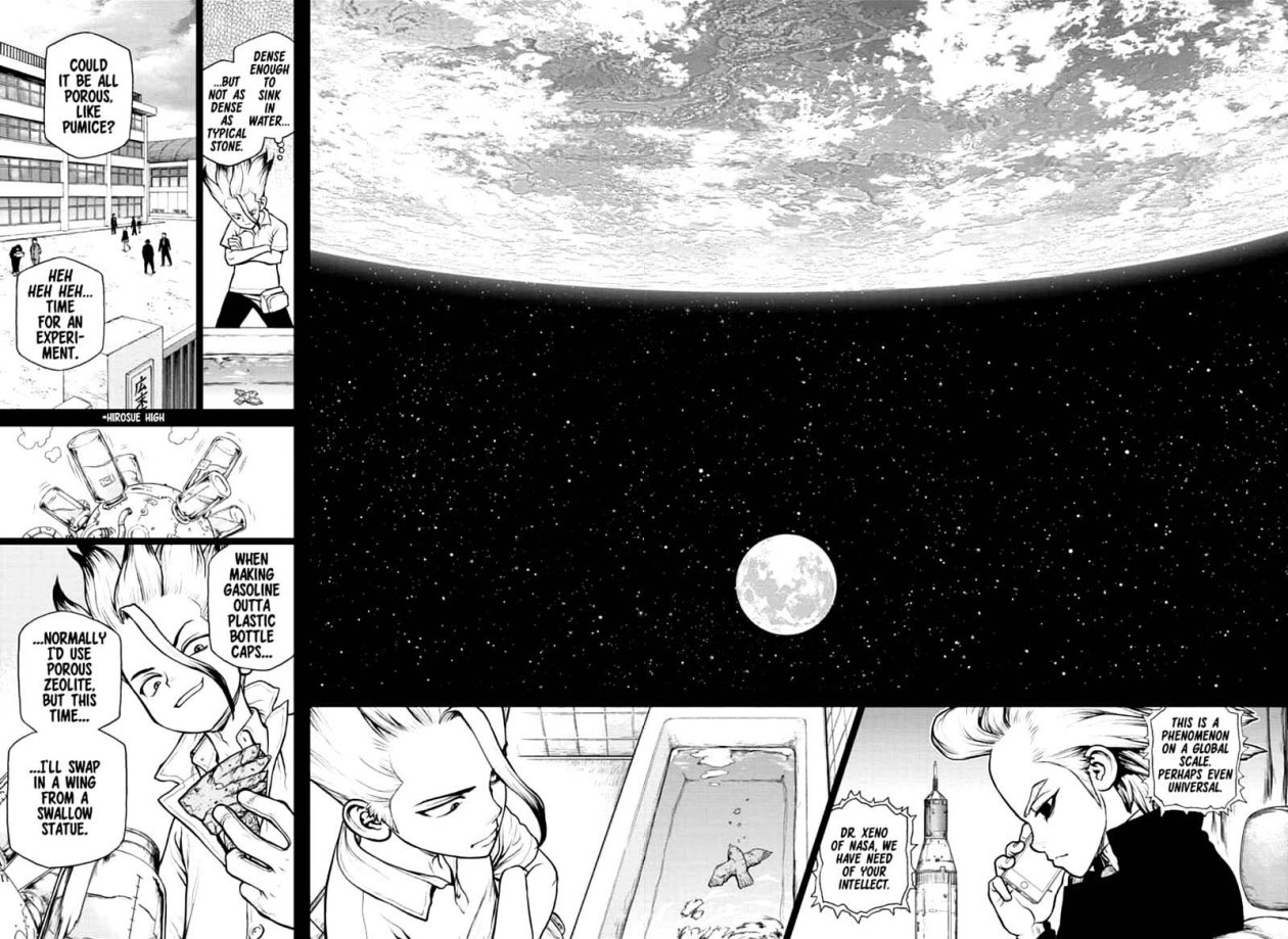 Dr. Stone : Chapter 157 - Same Time, Same Place image 004