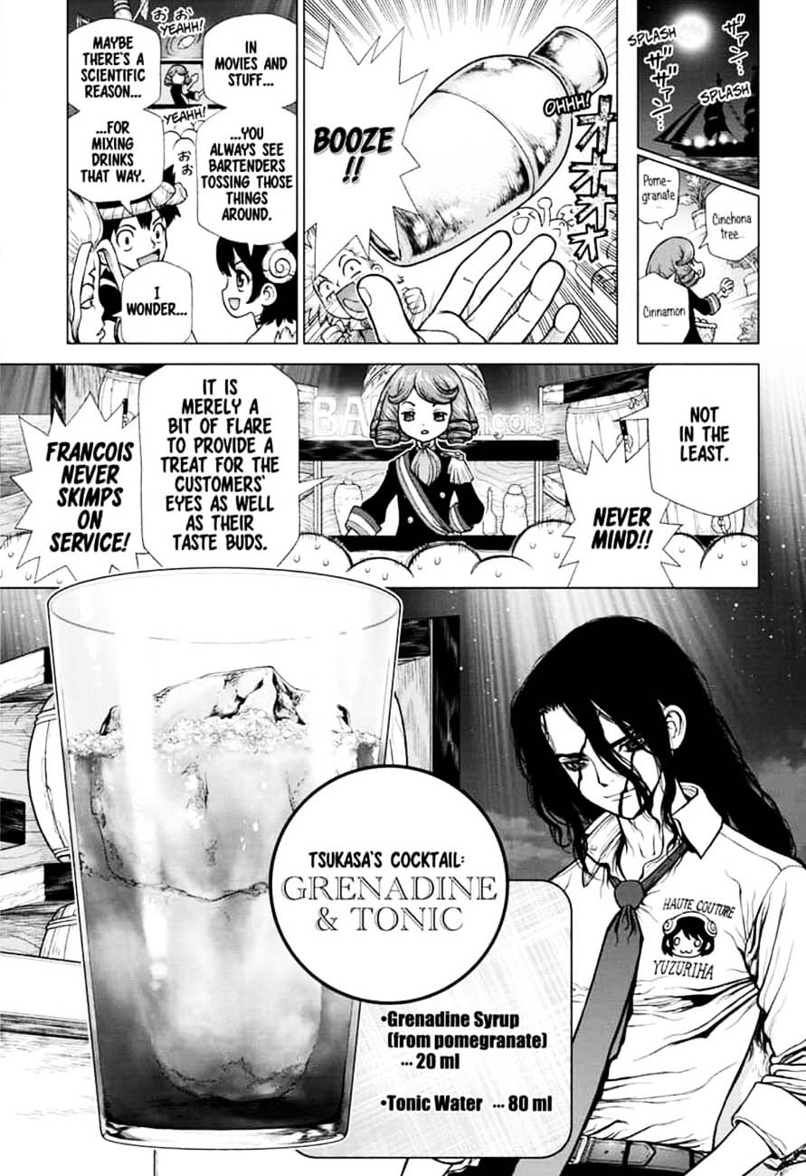 Dr. Stone : Chapter 145 - Bar Francois image 011