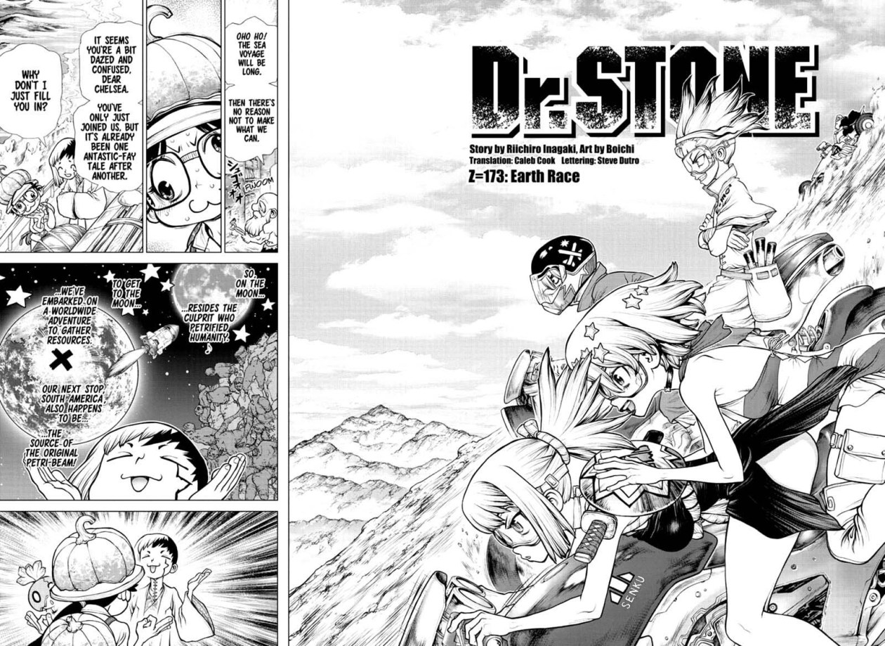 Dr. Stone, Chapter 173 image 002