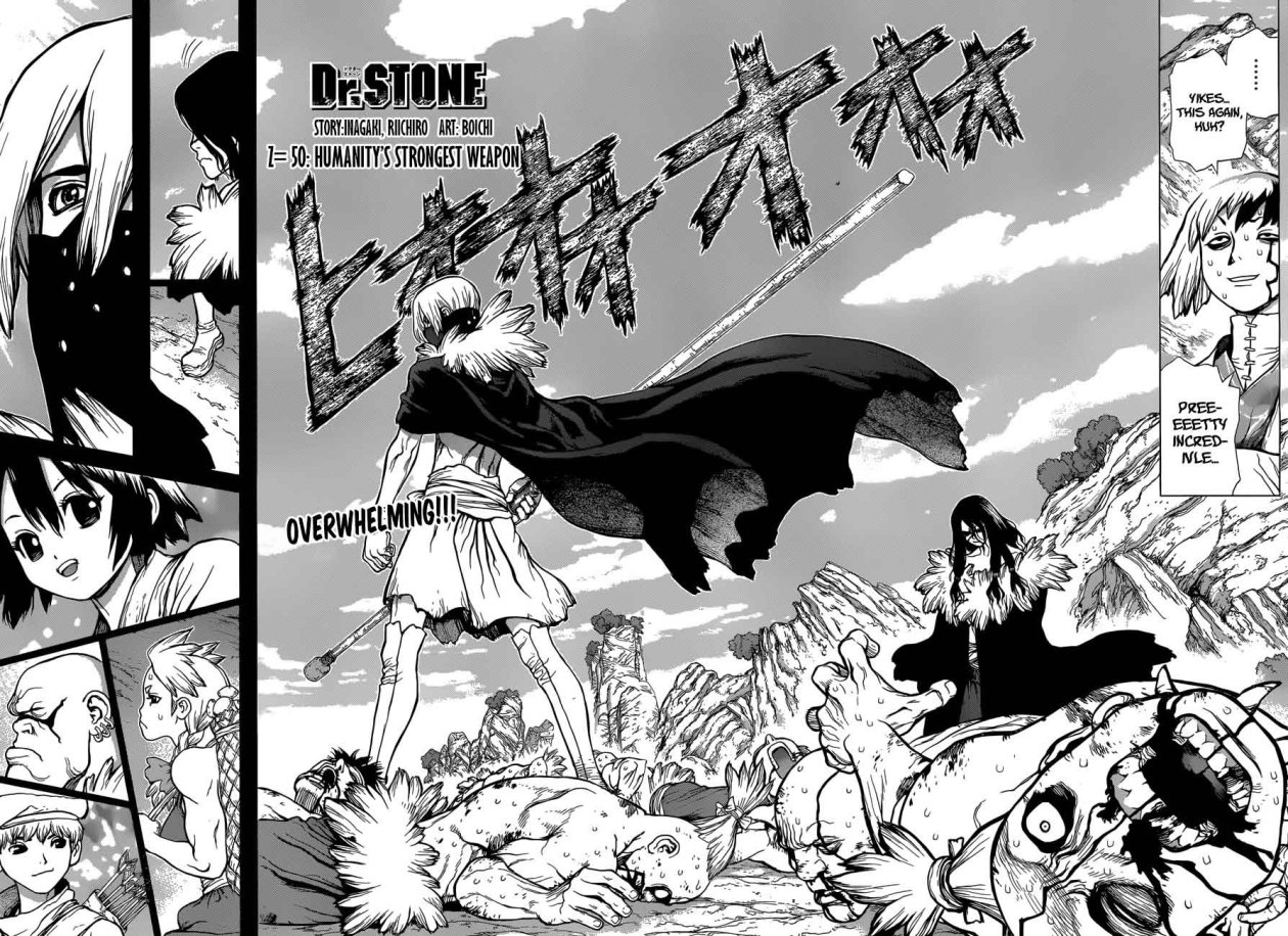 Dr. Stone : Chapter 50 - Humanitys Strongest Weapon image 002