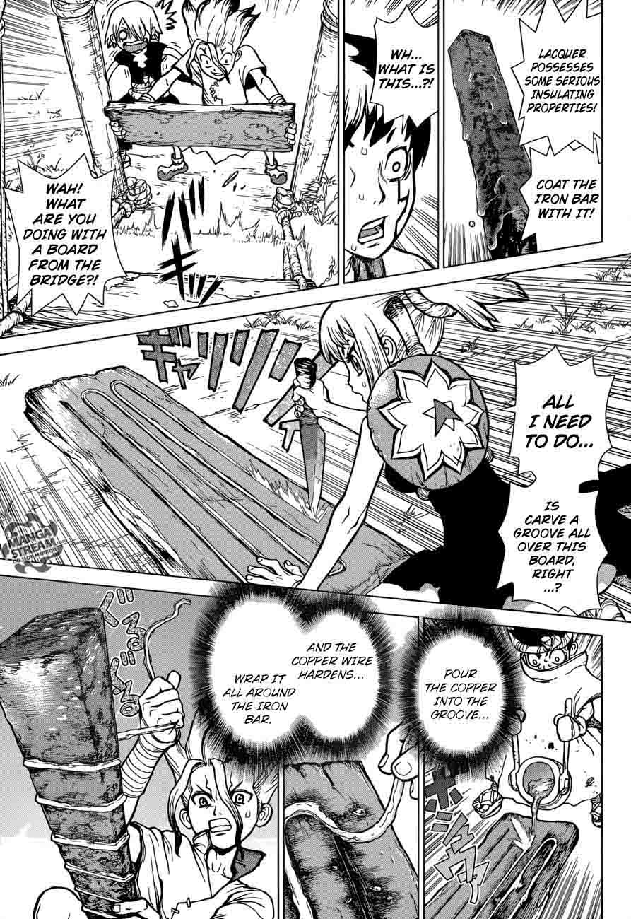 Dr. Stone : Chapter 24 - Lightning Speed image 009