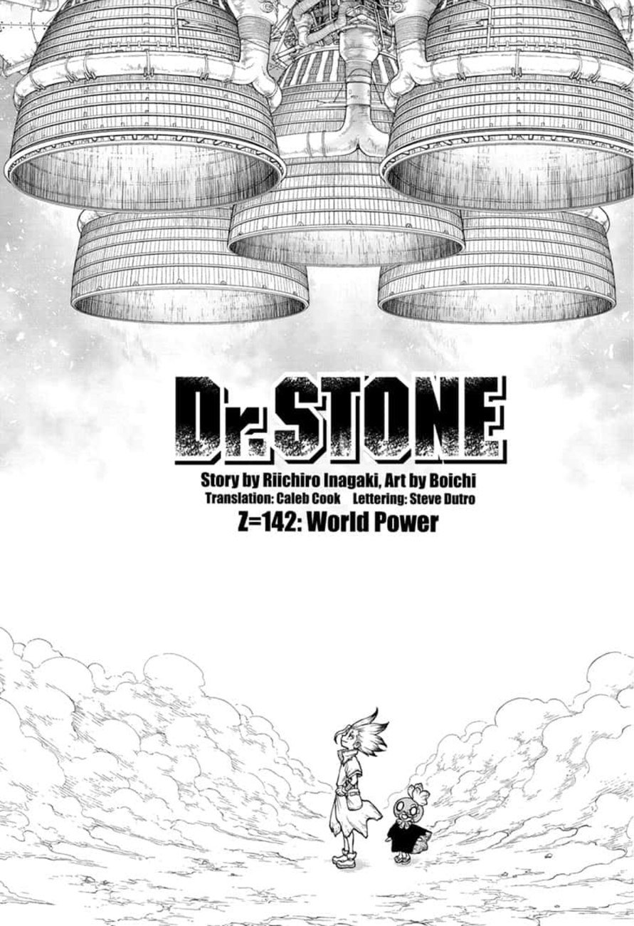 Dr. Stone : Chapter 142 - World Power image 001