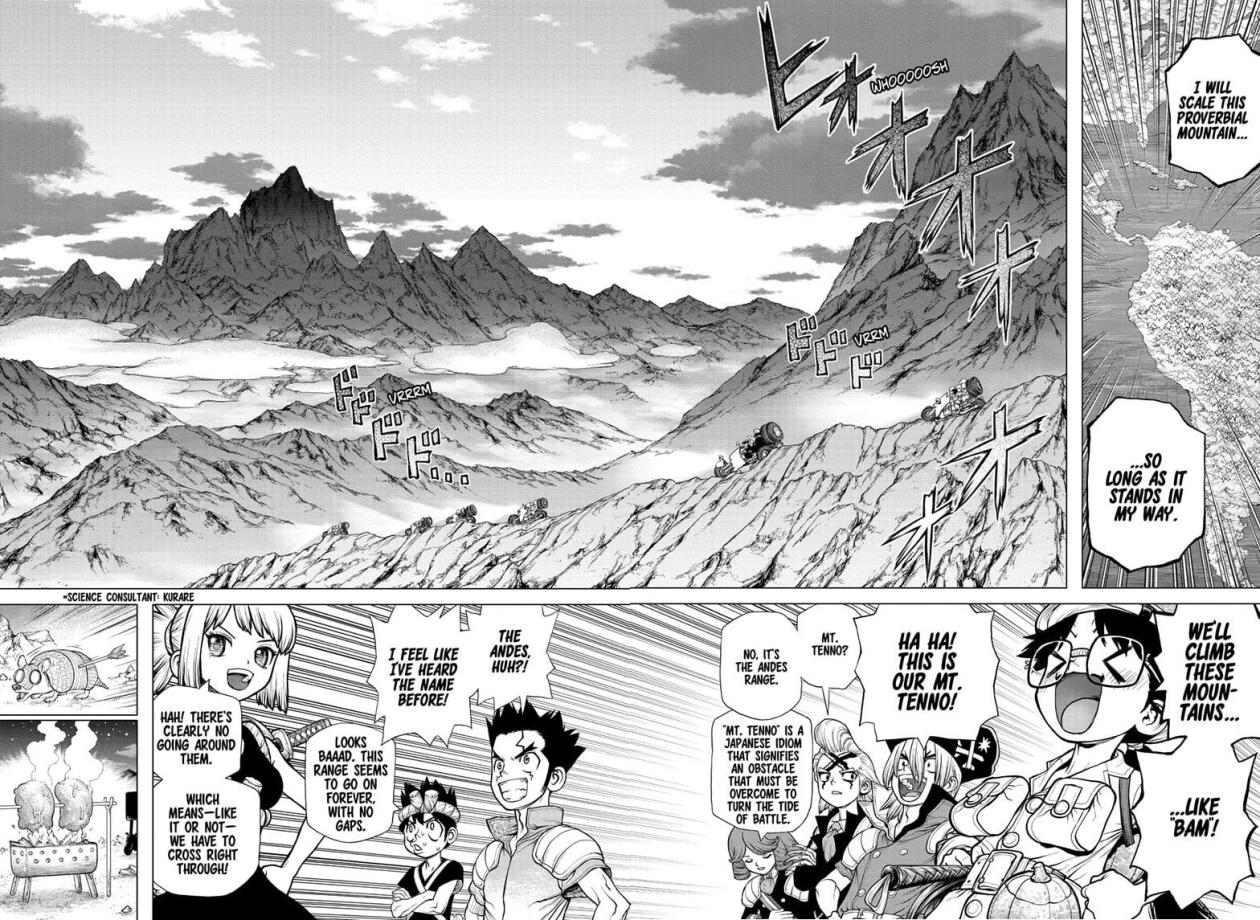 Dr Stone, chapter 178 image 005