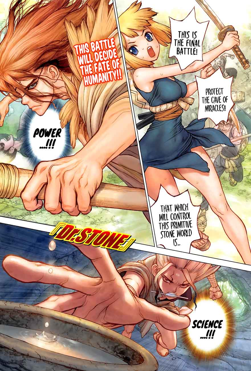 Dr. Stone : Chapter 77 - The Power of Science image 002