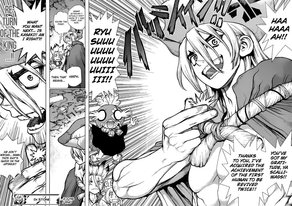 Dr. Stone : Chapter 116 - Miracle in your Hands image 017