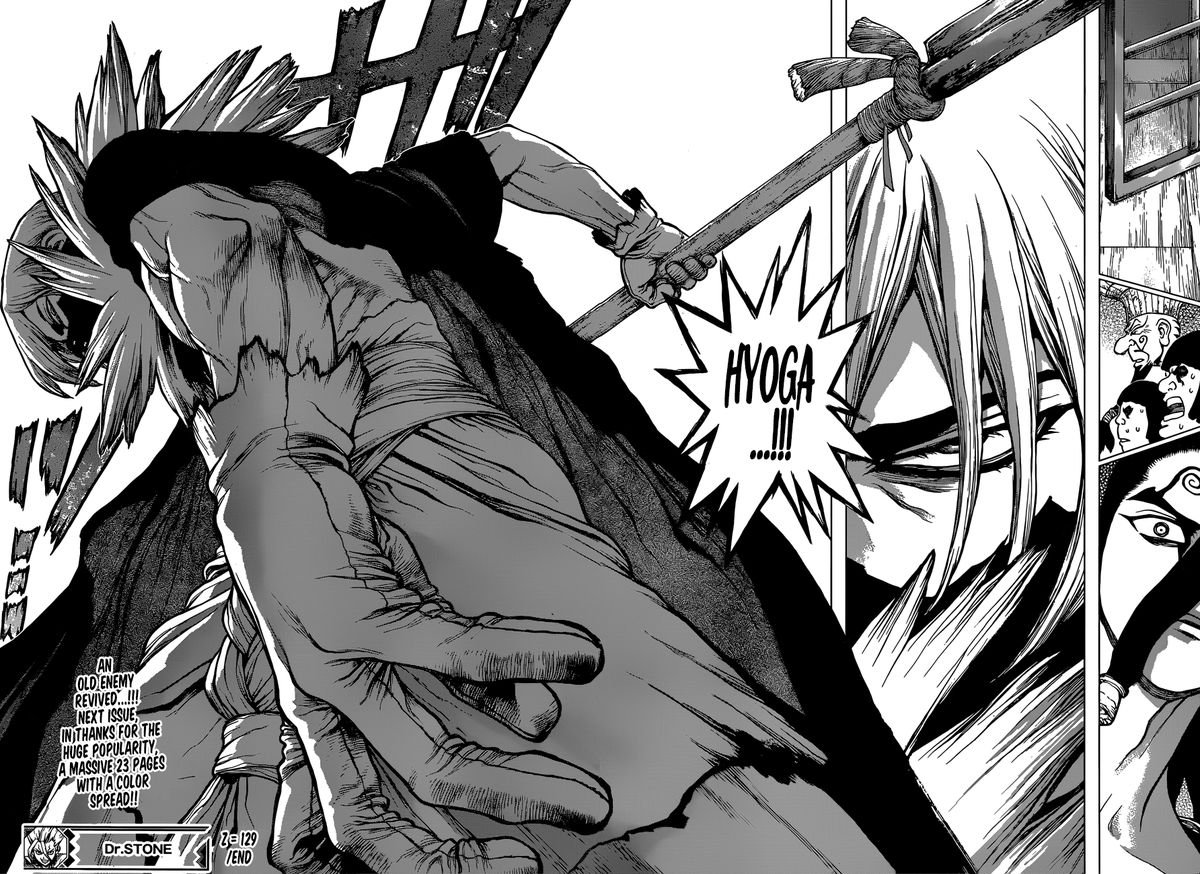 Dr. Stone : Chapter 129 - JOker image 014