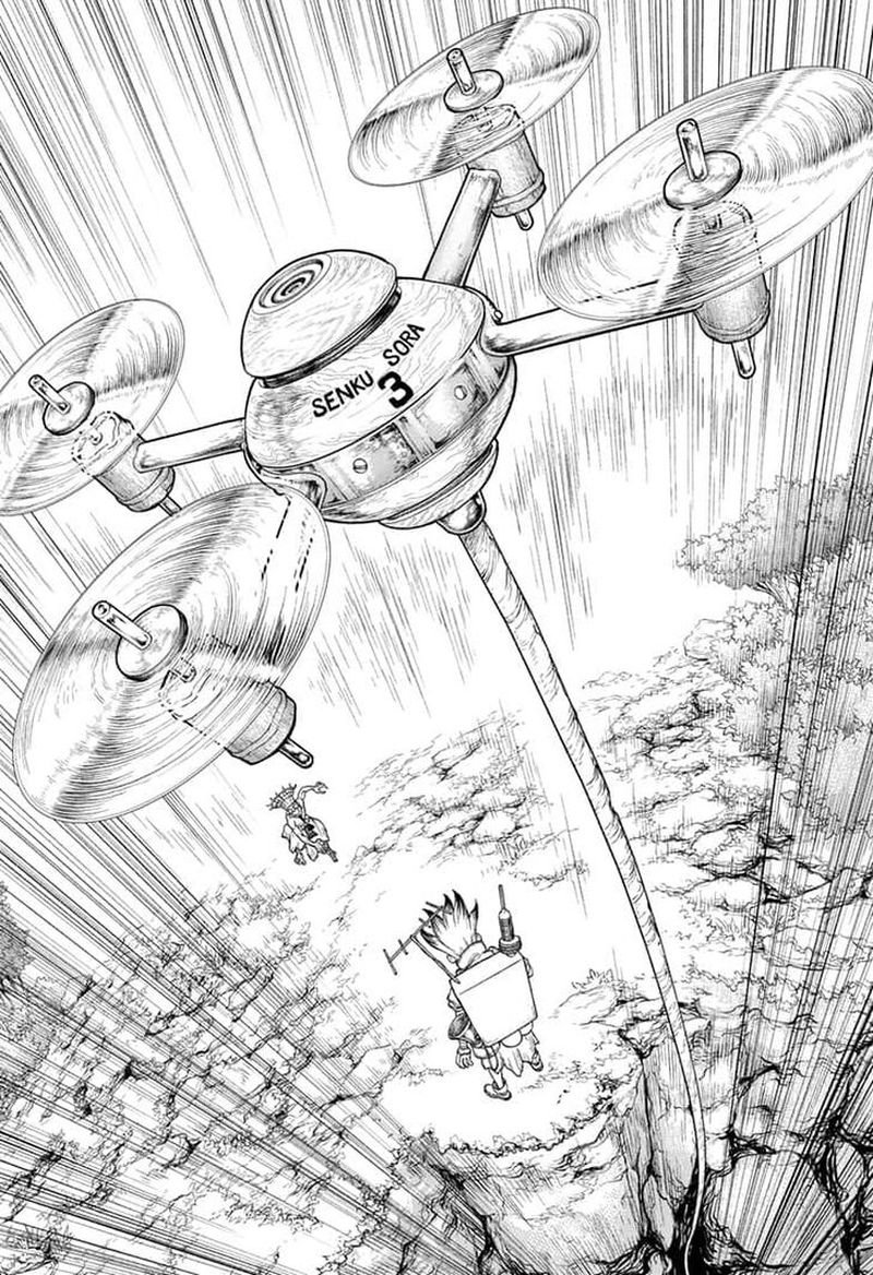 Dr. Stone : Chapter 136 - Medusa VS Science image 014