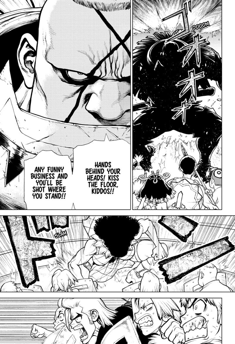 Dr. Stone : Chapter 165 - Know the Rules, Make the Rules image 010