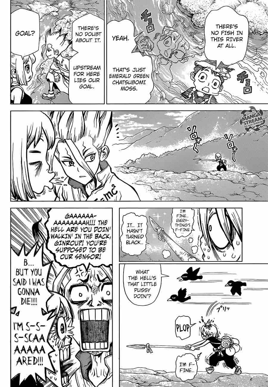 Dr. Stone : Chapter 30 - Death Green image 006