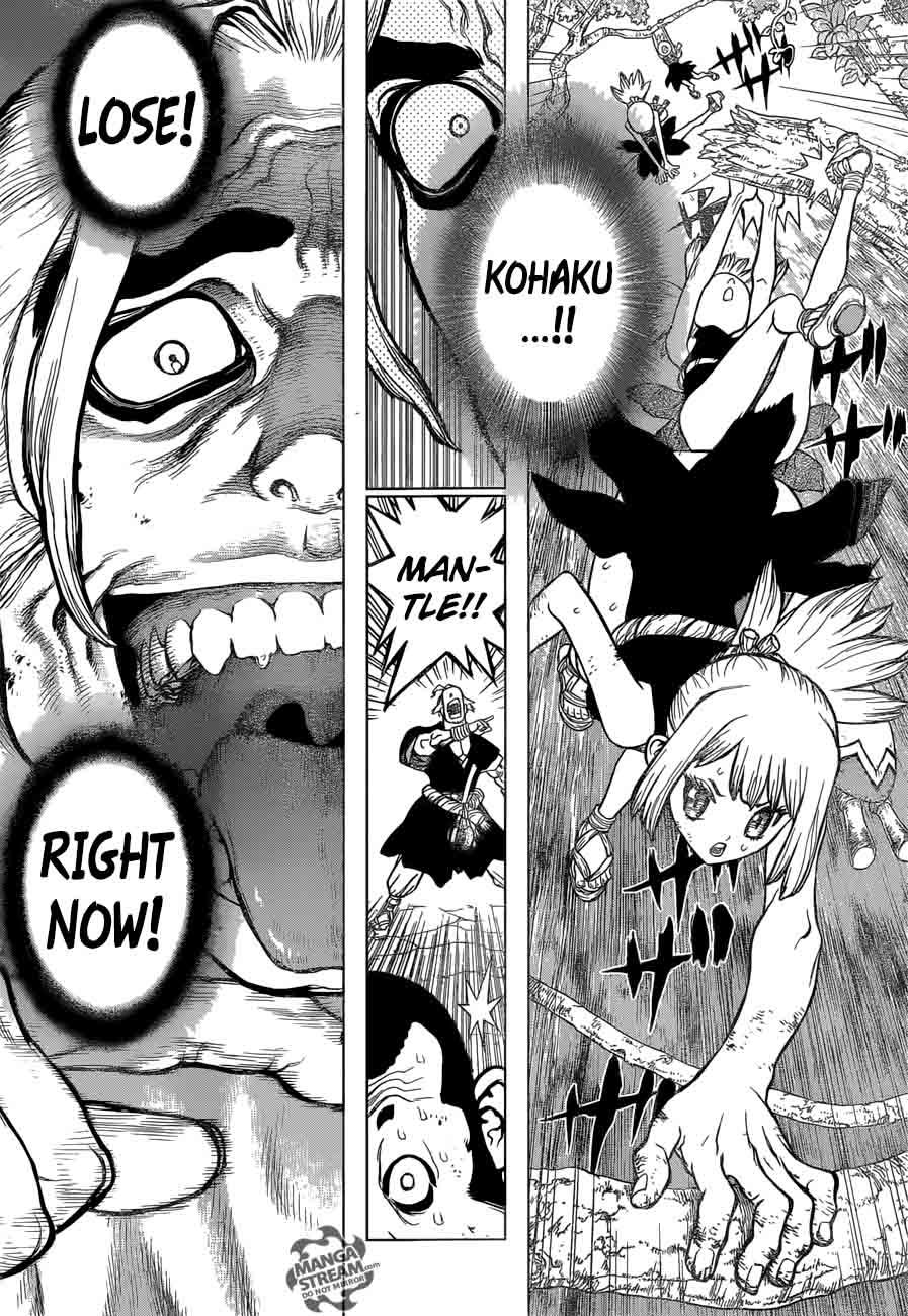 Dr. Stone : Chapter 36 - Kinrou and Ginrou image 010