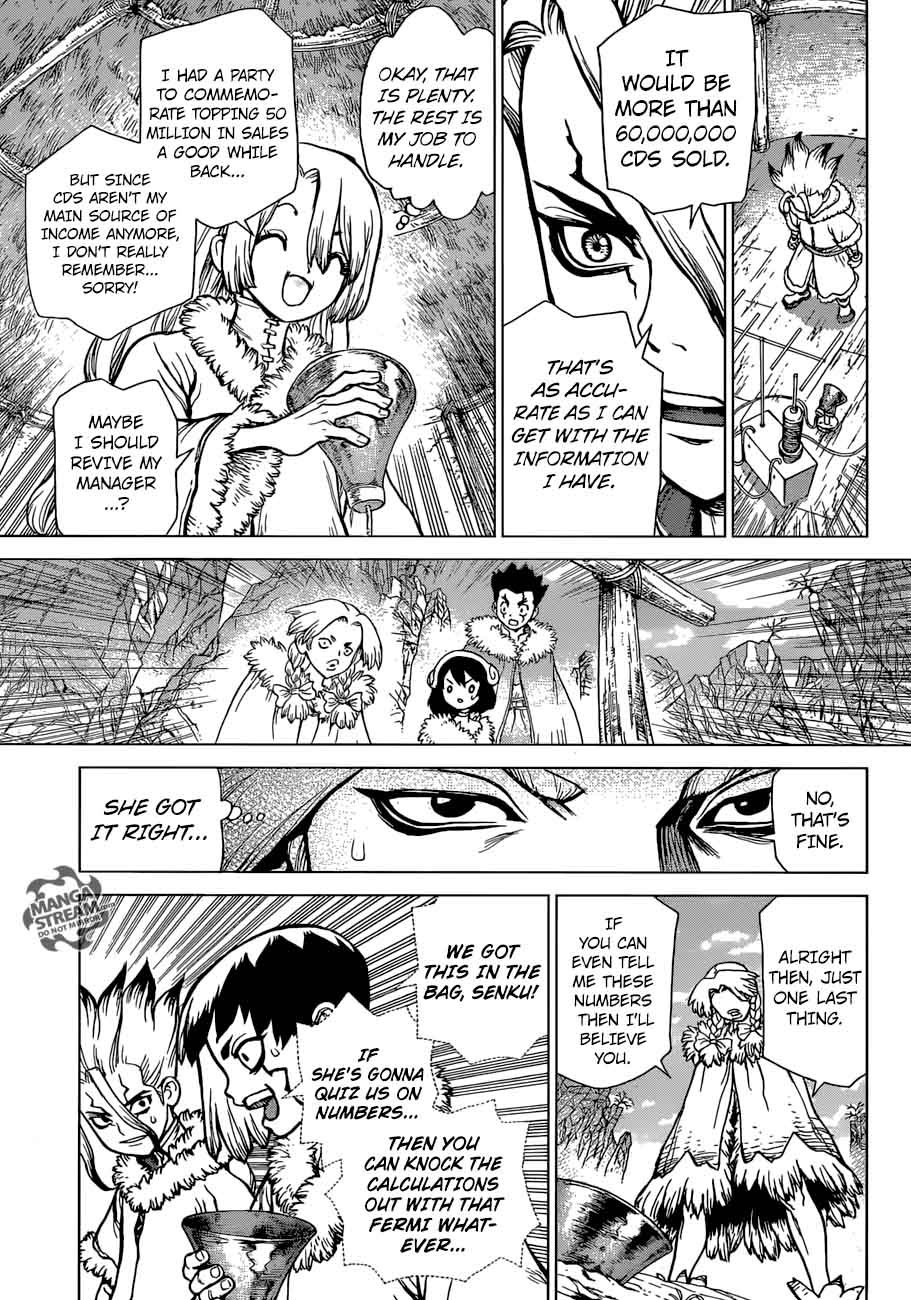 Dr. Stone : Chapter 66 - A liar and a honest person image 011
