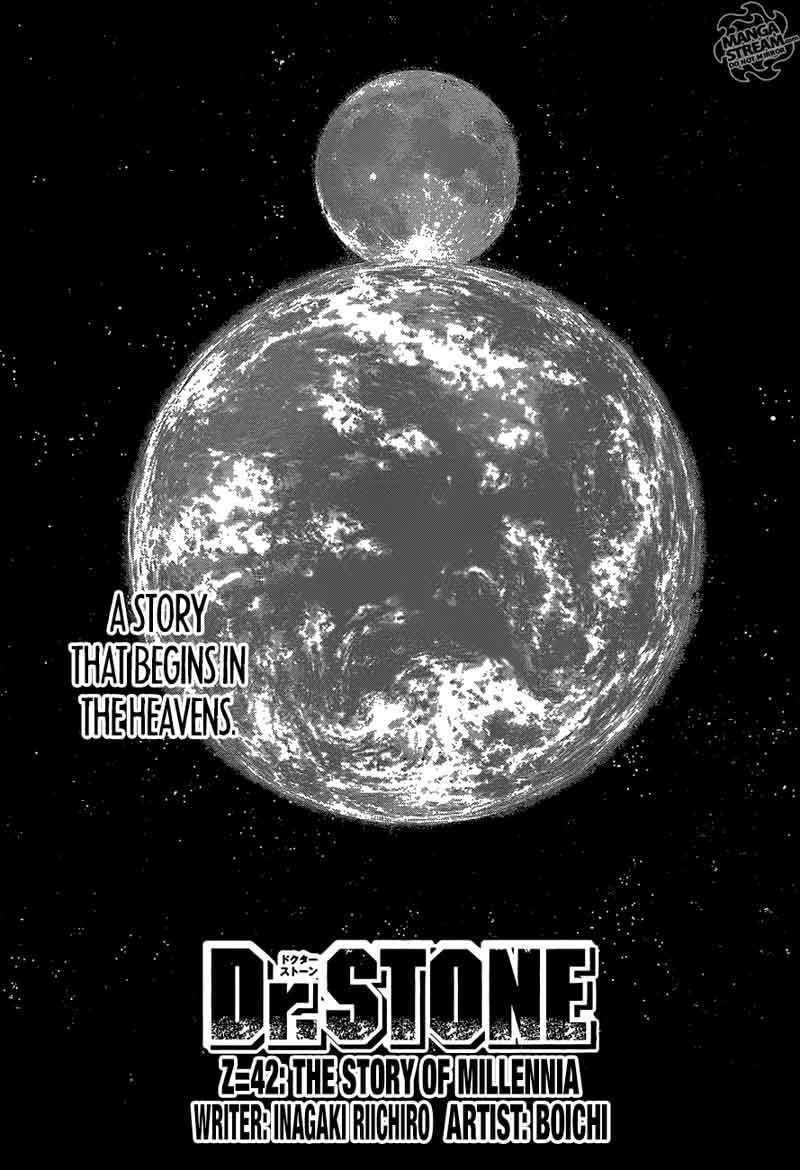 Dr. Stone : Chapter 42 - The story of millennia image 005