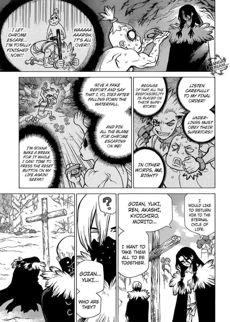 Dr. Stone : Chapter 74 - 20 second of fate image 007