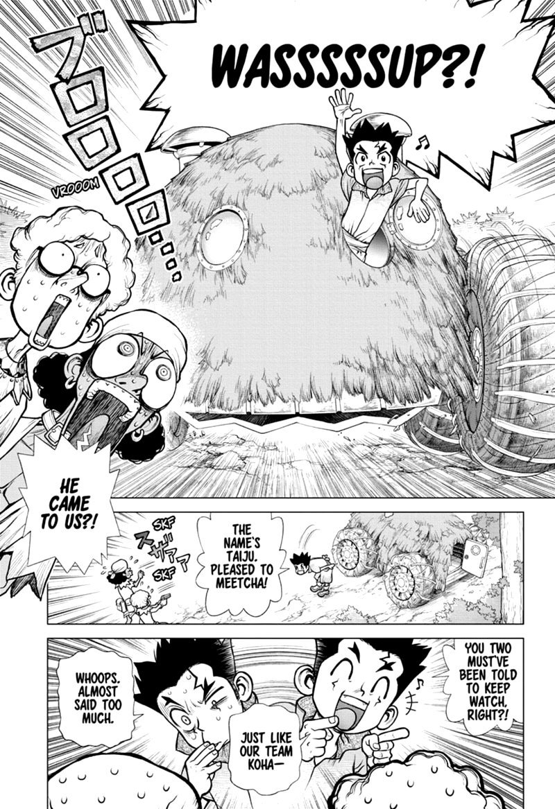 Dr. Stone : Chapter 162 - Down the Earth-Stained Path image 009