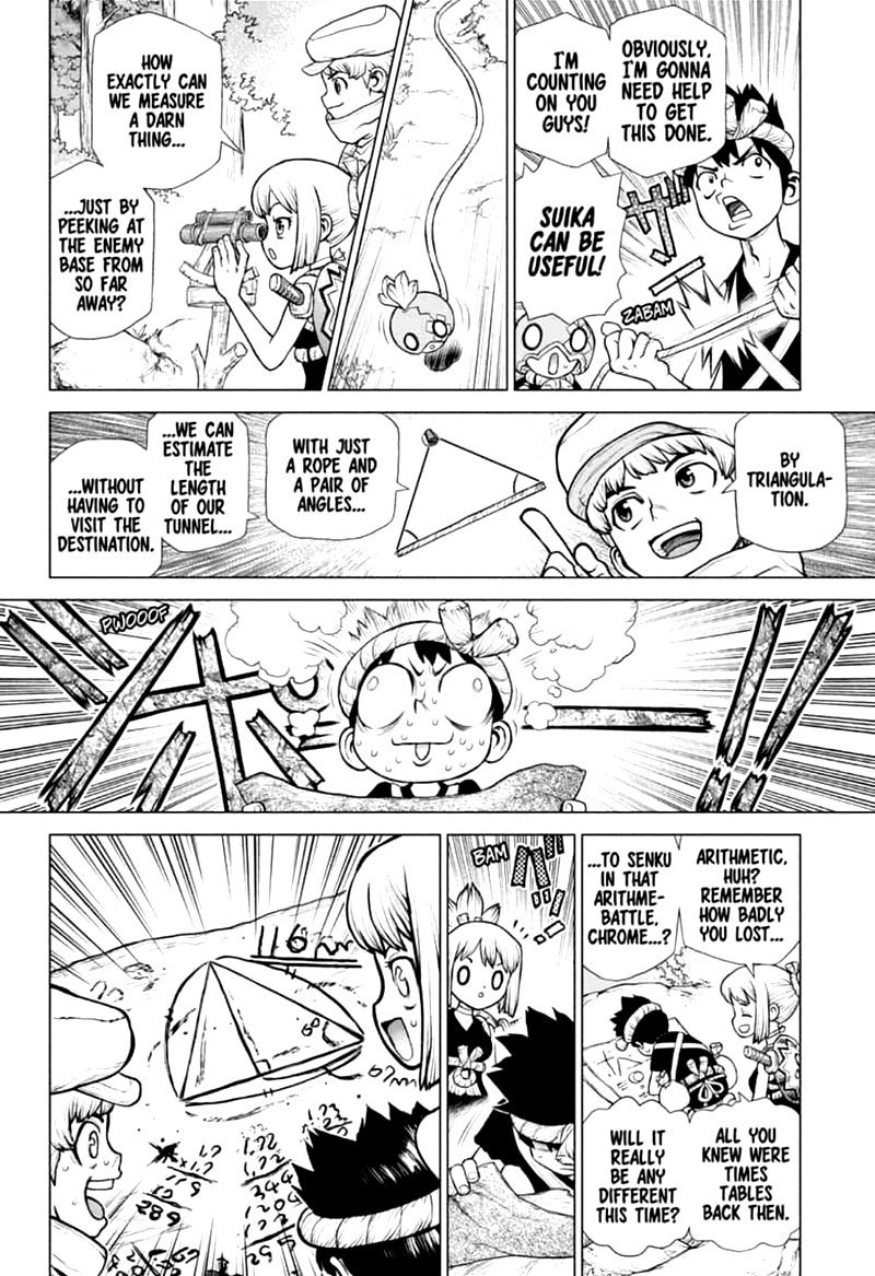 Dr. Stone : Chapter 161 - Craft Wars image 015