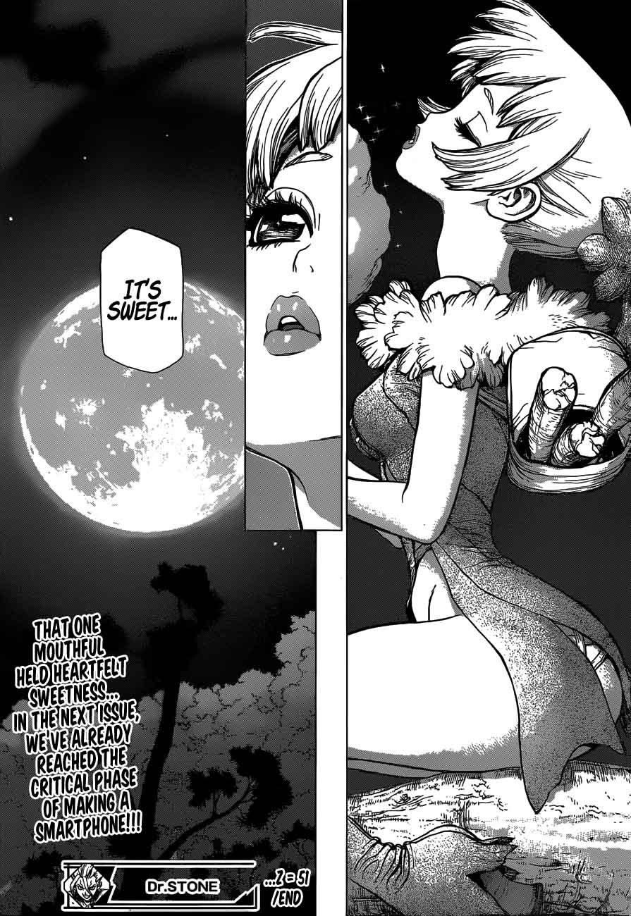 Dr. Stone : Chapter 51 - Sweet in the Stone World image 018