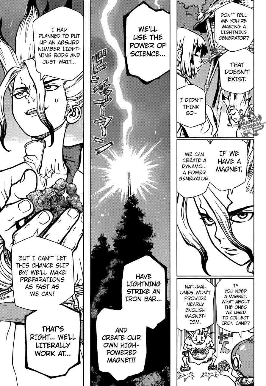 Dr. Stone : Chapter 24 - Lightning Speed image 007