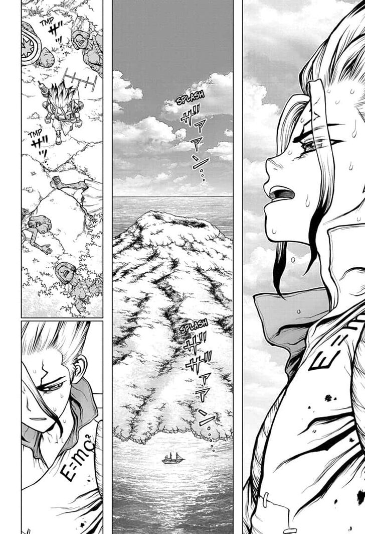 Dr. Stone : Chapter 137 - Last Man Standing image 014