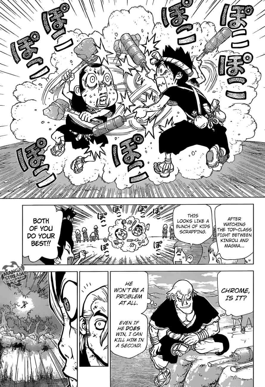Dr. Stone : Chapter 36 - Kinrou and Ginrou image 009