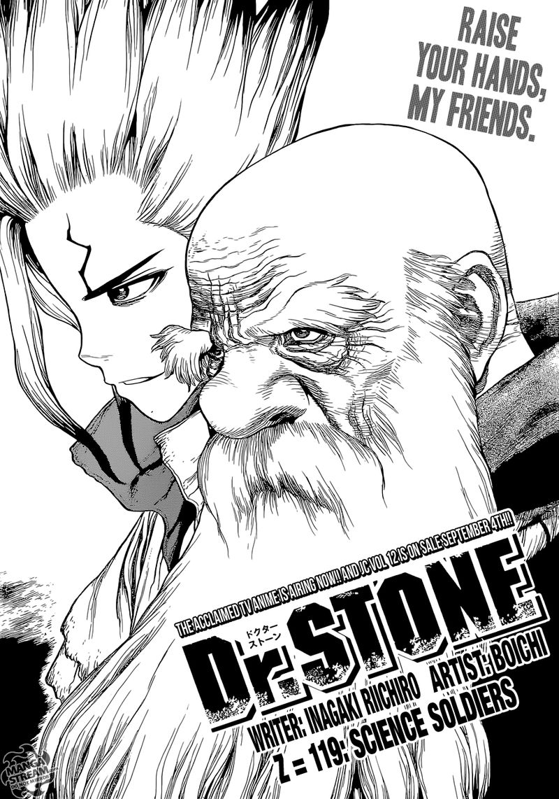 Dr. Stone : Chapter 119 - Science Soldiers image 001