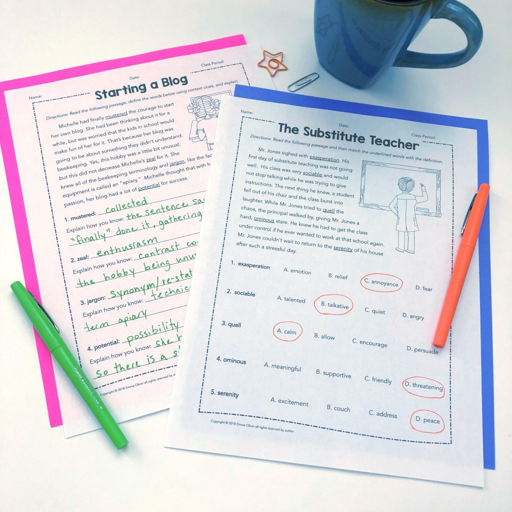 Resource Round Up 5 Days Of Freebies For Ela Test Prep