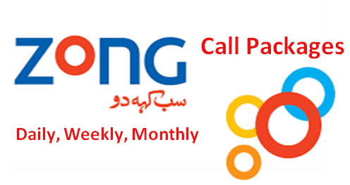 Zong Call Packages Daily, Weekly, Monthly latest updated complete list