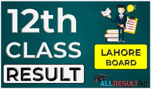 2nd Year Result Lahore Board