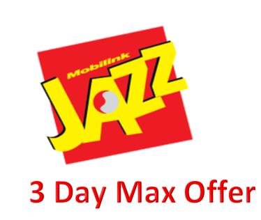 Jazz 3 Day Max Offer
