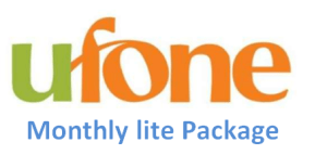 Ufone Monthly Lite Package