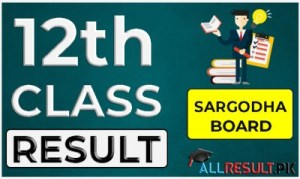 2nd Year Result 2021 Sargodha Board