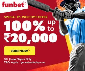 Funbet India 100% Sports Betting Bonus