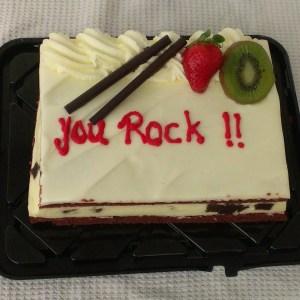 You Rock Cake for Tutors
