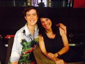 With Writer & Graduate Liza Mattison